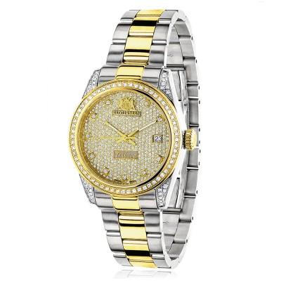 Luxurman Women's Diamond Watch Tribeca 2484