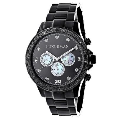 Luxurman Men's Diamond Watch Liberty 2516