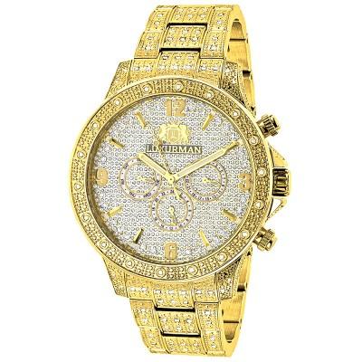 Luxurman Men's Diamond Watch Liberty 2530