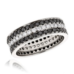 Diamond Eternity Band 2.85ct in Platinum