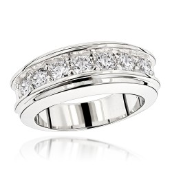 ff4d3573224 Diamond Wedding Band 1.5ct in 14K Gold