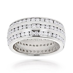 Diamond Eternity Band 4.50ct in 18K Gold