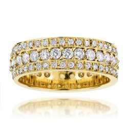 Diamond Eternity Band 2.00ct in 14K Gold