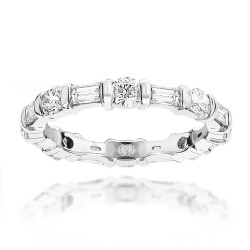 Diamond Eternity Band 1.26ct in 14K Gold