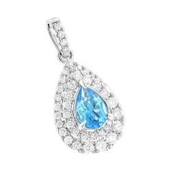Unique diamond pendants for women genuine diamond necklaces womens diamond pendant 075ct in 14k gold aloadofball Choice Image