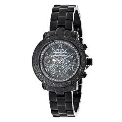 Luxurman Unisex Diamond Watch Montana 2426