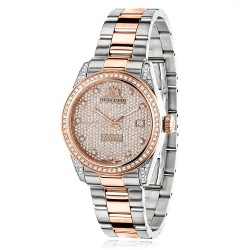 Luxurman Women's Diamond Watch Tribeca 2483