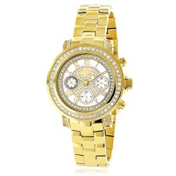 Luxurman Women's Diamond Watch Montana 2495