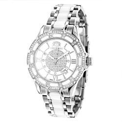 Luxurman Women's Diamond Watch Galaxy 2538