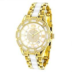 Luxurman Women's Diamond Watch Galaxy 2541