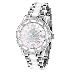 Luxurman Women's Diamond Watch Galaxy 2542