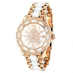 Luxurman Women's Diamond Watch Galaxy 2545