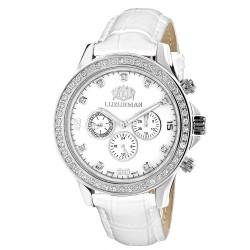 Luxurman Men's Diamond Watch Liberty 2859