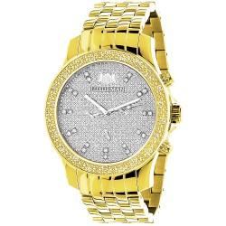 Luxurman Men's Diamond Watch Raptor