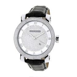 Luxurman Men's Diamond Watch Phantom 2135