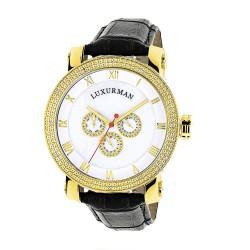 Luxurman Men's Diamond Watch Phantom 2141
