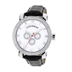 Luxurman Men's Diamond Watch Phantom 2142