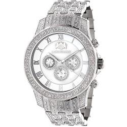 Luxurman Men's Diamond Watch Raptor 2183