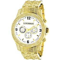 Luxurman Men's Diamond Watch Raptor 2181