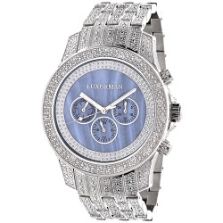 Luxurman Men's Diamond Watch Raptor 2182
