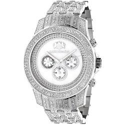 Luxurman Men's Diamond Watch Raptor 2184