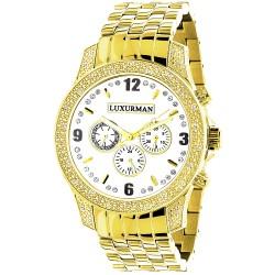 Luxurman Men's Diamond Watch Raptor 2361