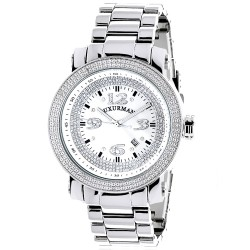 Luxurman Men's Diamond Watch Phantom 2208