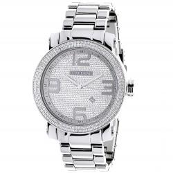 Luxurman Men's Diamond Watch Phantom 2209