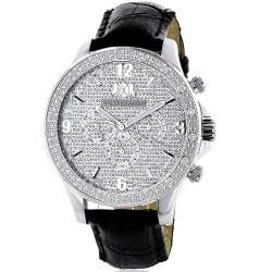 Luxurman Men's Diamond Watch Liberty 2218