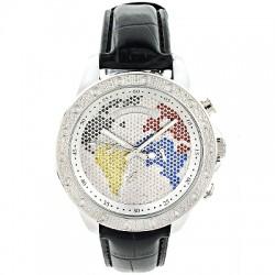 Luxurman Men's Diamond Watch Liberty 2220