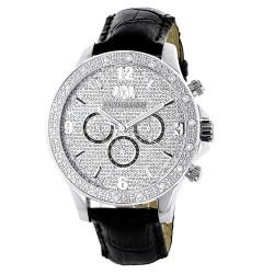 Luxurman Men's Diamond Watch Liberty 2224