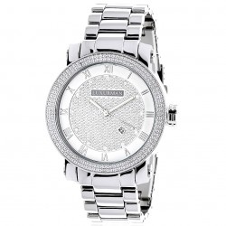 Luxurman Men's Diamond Watch Phantom 2232