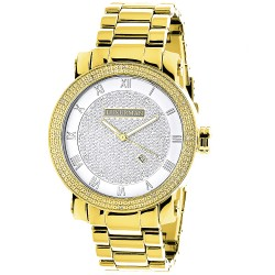 Luxurman Men's Diamond Watch Phantom 2365