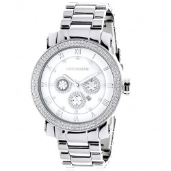 Luxurman Men's Diamond Watch Phantom 2363