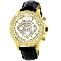 Luxurman Men's Diamond Watch Liberty 2267