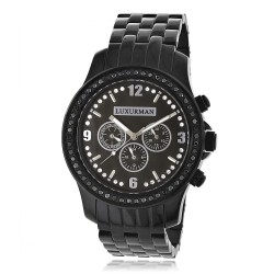 Luxurman Men's Diamond Watch Raptor 2278