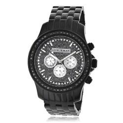 Luxurman Men's Diamond Watch Raptor 2276