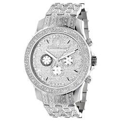 Luxurman Men's Diamond Watch Raptor 2436