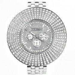 Luxurman Men's Diamond Watch Raptor 2441