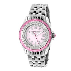 Luxurman Women's Diamond Watch Royale 2473