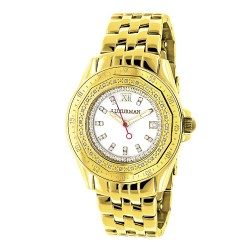 Luxurman Women's Diamond Watch Royale 2474