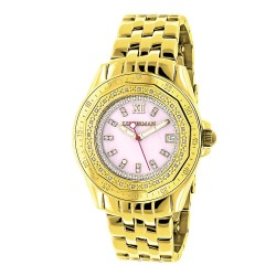 Luxurman Women's Diamond Watch Royale 2476