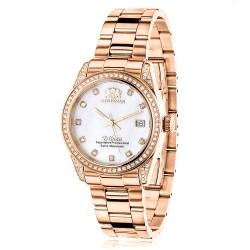 Luxurman Women's Diamond Watch Tribeca 2482