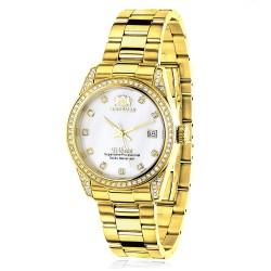 Luxurman Women's Diamond Watch Tribeca 2488