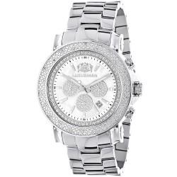 Luxurman Men's Diamond Watch  2489