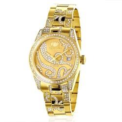 Luxurman Women's Diamond Watch Tribeca 2492