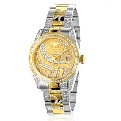 Luxurman Women's Diamond Watch Tribeca 2493
