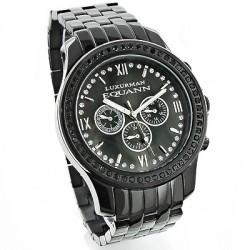 Luxurman Men's Diamond Watch Raptor 2508