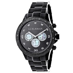 Luxurman Men's Diamond Watch Liberty 2516