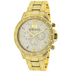 Luxurman Men's Diamond Watch Liberty 2530